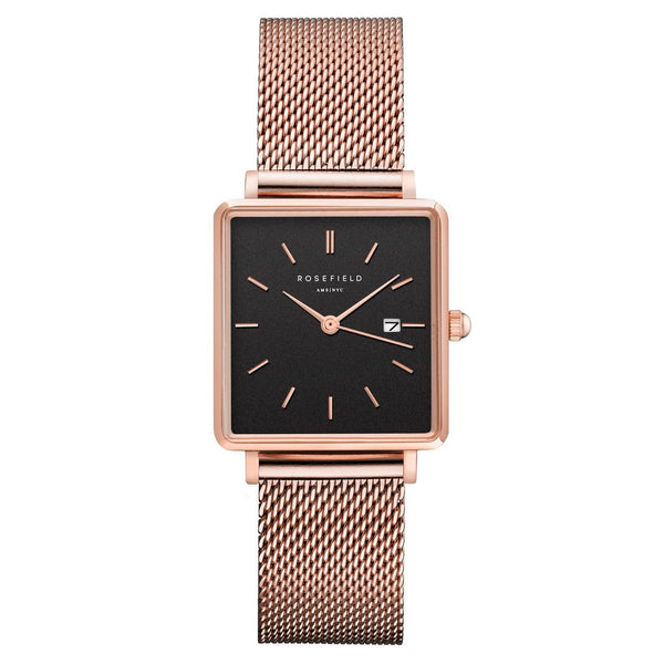 Montre Rosefield Boxy Mesh RG