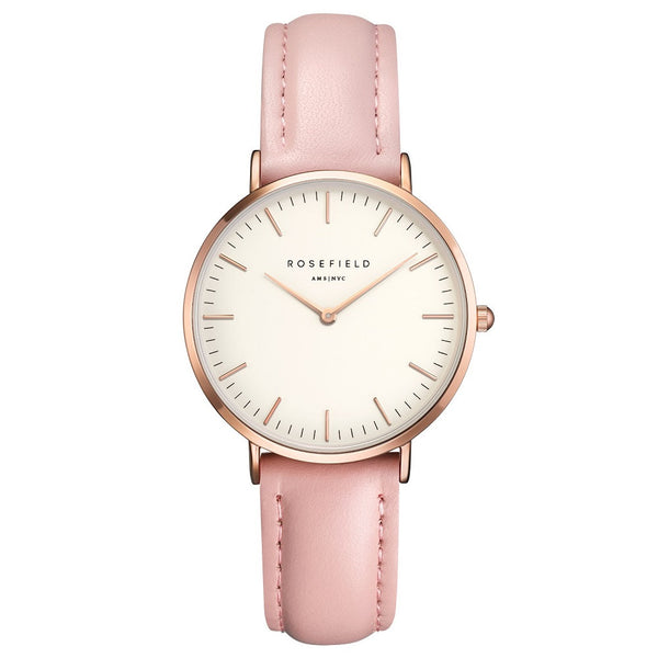 Montre Rosefield Tribeca Pink