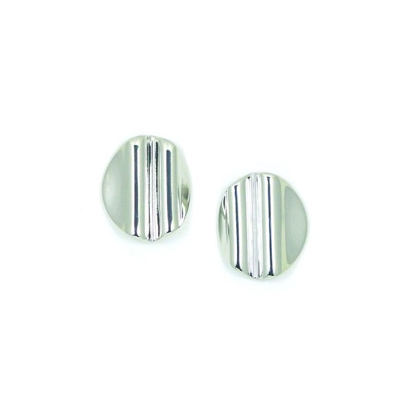 Boucles d'oreilles Tidal Silver Small