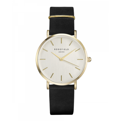 Montre Rosefield West Village Black