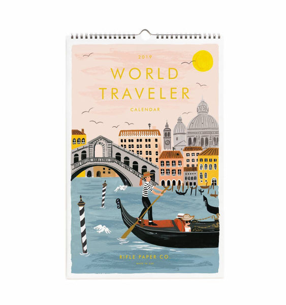 Calendrier 2019 - World Traveler