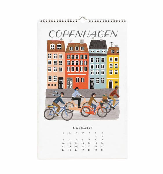 Calendrier 2019 - World Traveler November