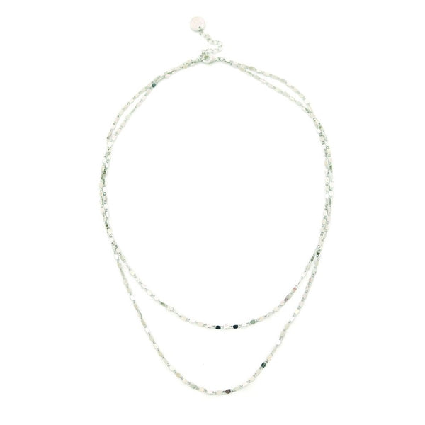 Collier Cleo Silver