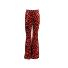 The Red Leopard Pant