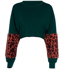 Forest Leopard Sweatshirt