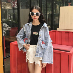 Self-Love Denim Jacket