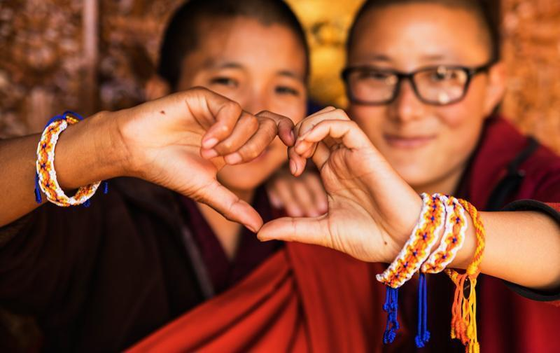 Love is project Bhutan artisans happy smile photography travel