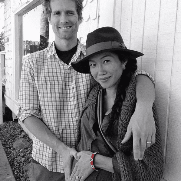 happy couple with original love bracelet love is project