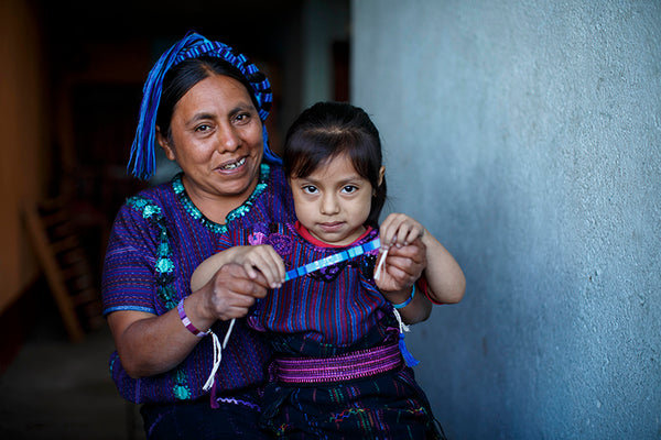 Guatemalan Artisan spreading the love for Love Is Project