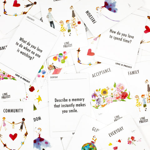 Spread the Love deck of cards - Love Is Project
