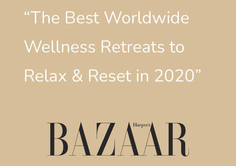 Harper Bazaar - Emily Pereira The Quest Retreat