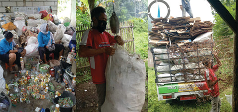 Indonesia recycling - Love Is Project
