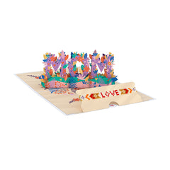 Lovepop cards x Love Is Project