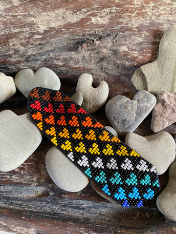 Over the rainbow hearts bracelet - Love Is Project Colombia