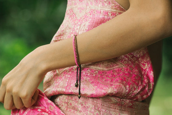 love is project bracelet handmade in india