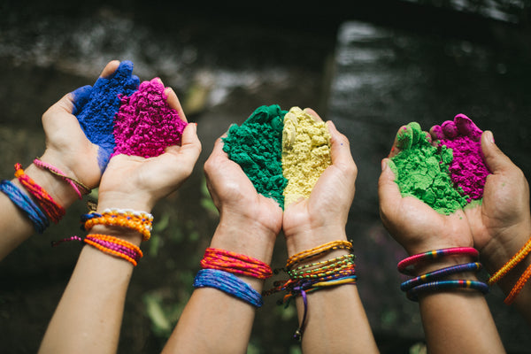 love is project india collection and holi powder for fun under the sun