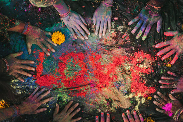 holi festival in india with love is project bracelets