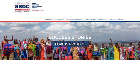 SBDC success story Love Is Project
