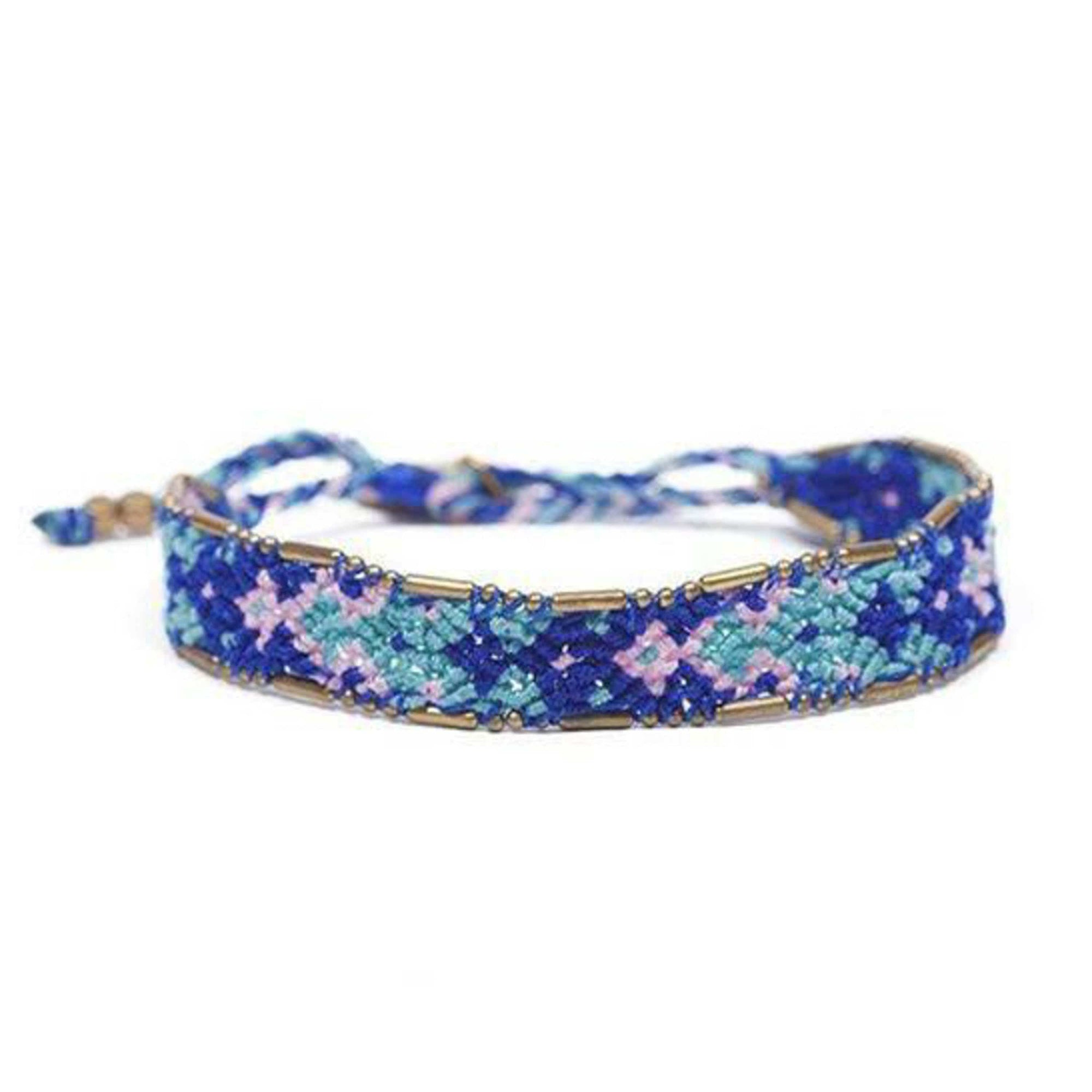 Bali Friendship Bracelet - Blue