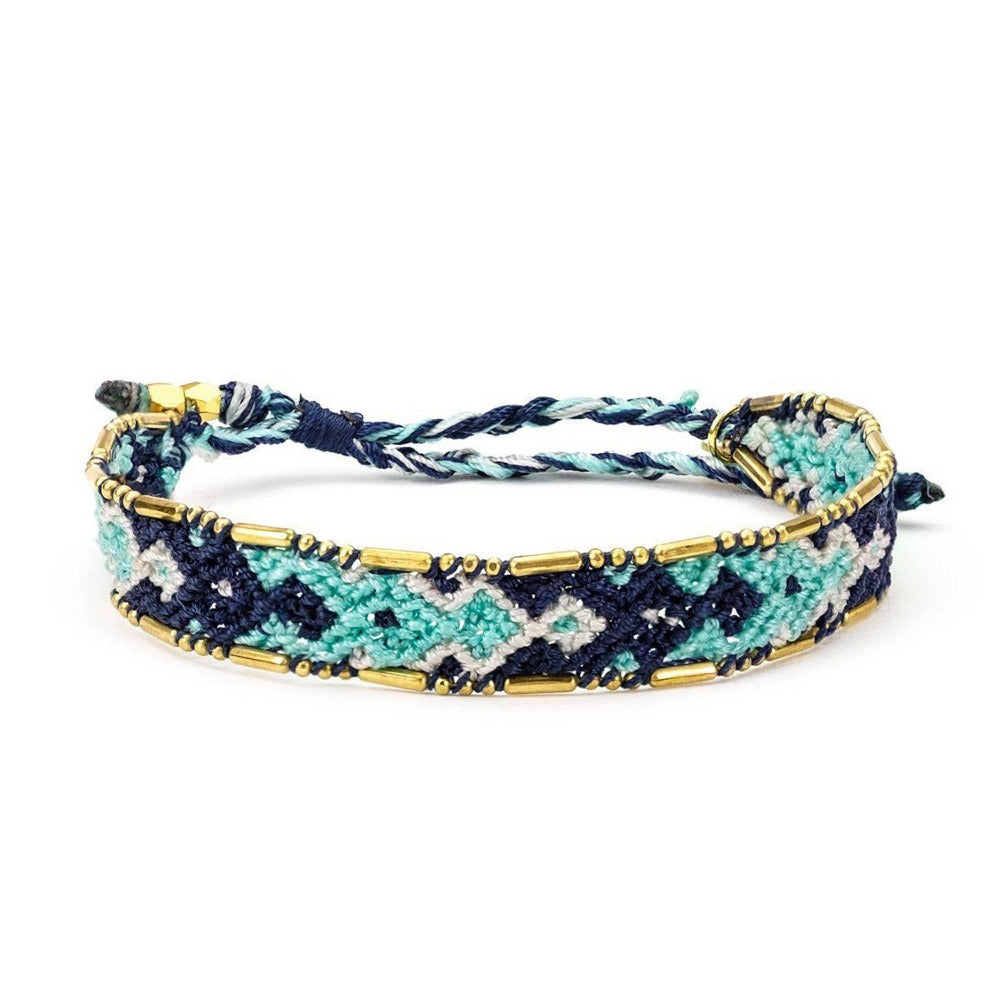 Bali Friendship Bracelet - Ocean Blue