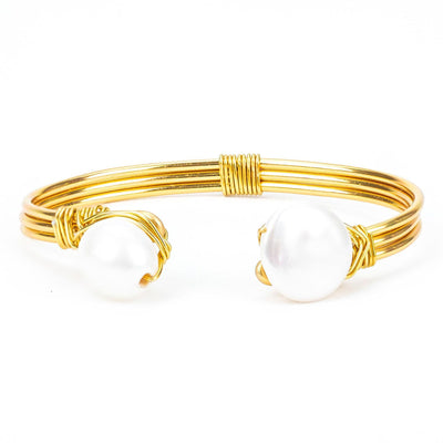 El Nido Pearl Bracelet handmade in Philippines. Love Is Project creates jobs for artisans worldwide