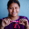 Atitlan LOVE Bracelet - Pink & Red