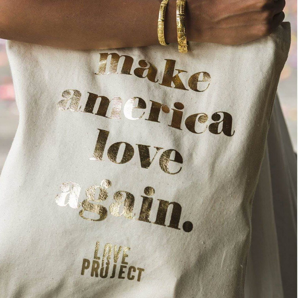 Make America Love Again Tote - White