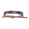 Bali Friendship Bracelet - Royal, Blue & Pink