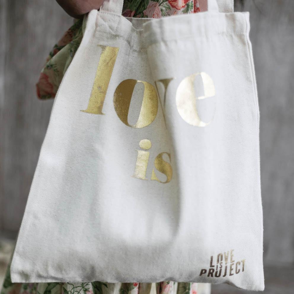 Love Is Tote - Love Is Project