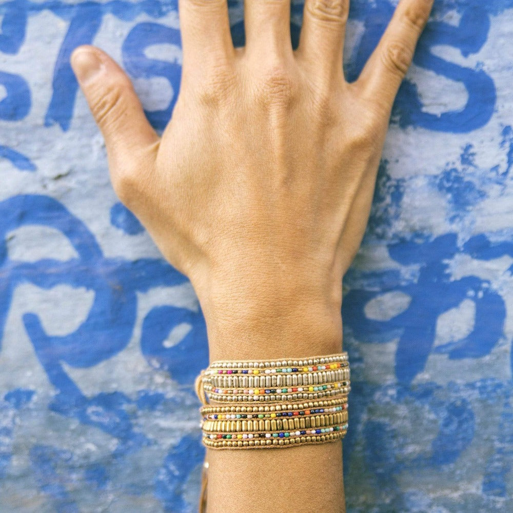 Love Is Project Darjeeling Bundle - Silver & Gold bracelets