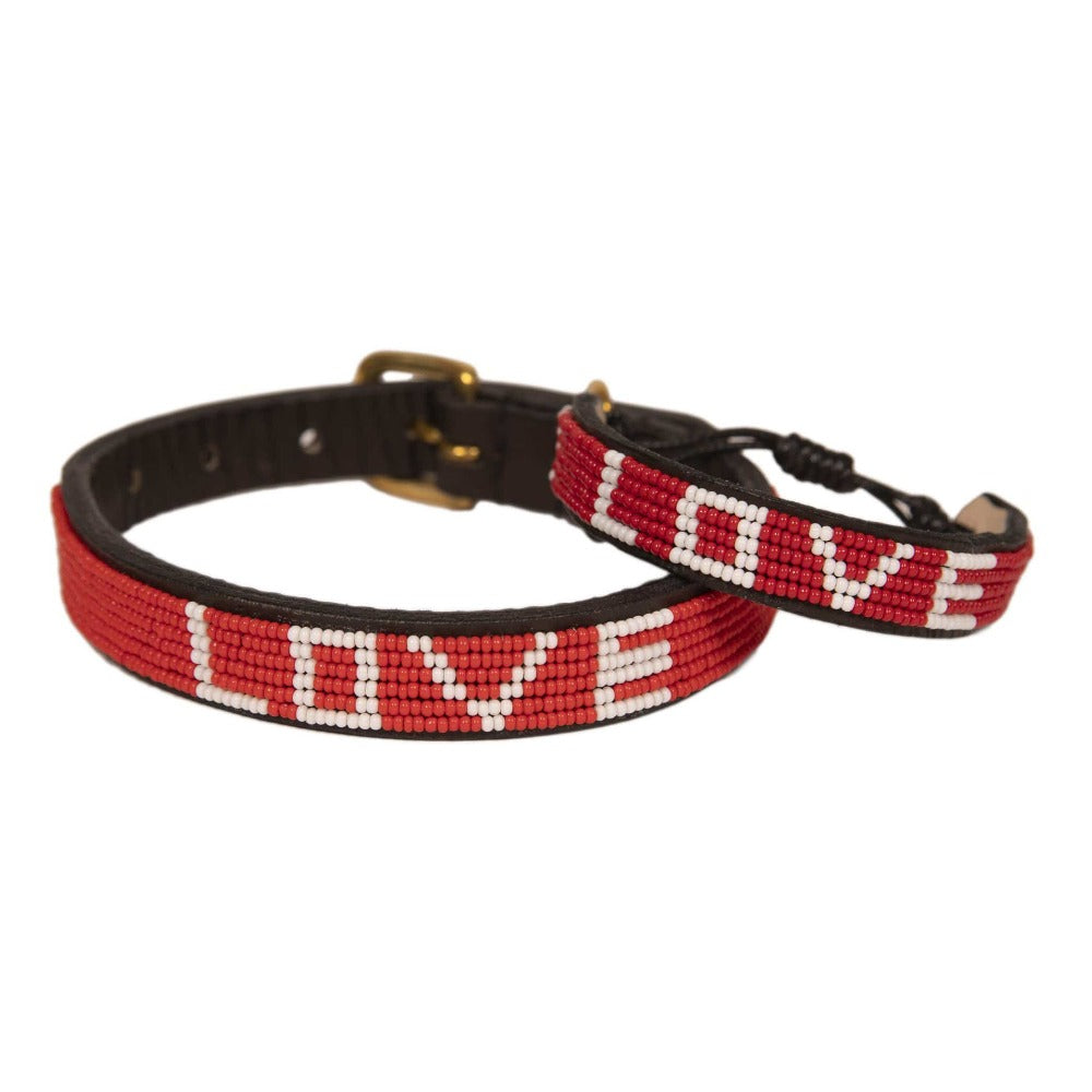 Bundle - Best Friend Pet Collar & Bracelet - Love Is Project