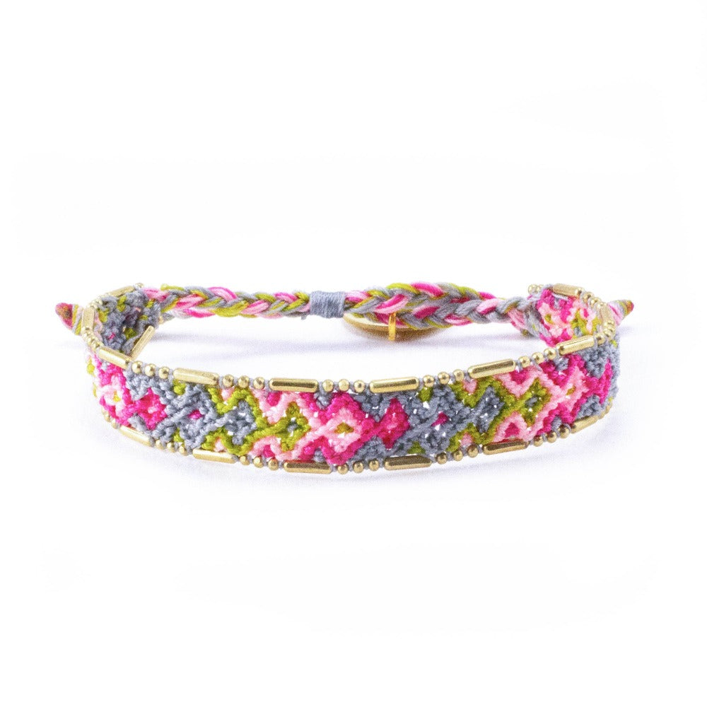 Bali Friendship Bracelet - Bloom Garden - Love Is Project