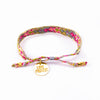 Bali Friendship Bracelets - Bloom Garden Love Is Project woven bracelets by artisans in Indonesia. Beaded bracelets creates jobs.