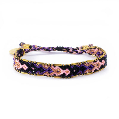 Bundle - Galaxy Friendship Bracelets woven beaded Love Is Project bracelets made by female artisans in Bali, Indonesia. Creates jobs