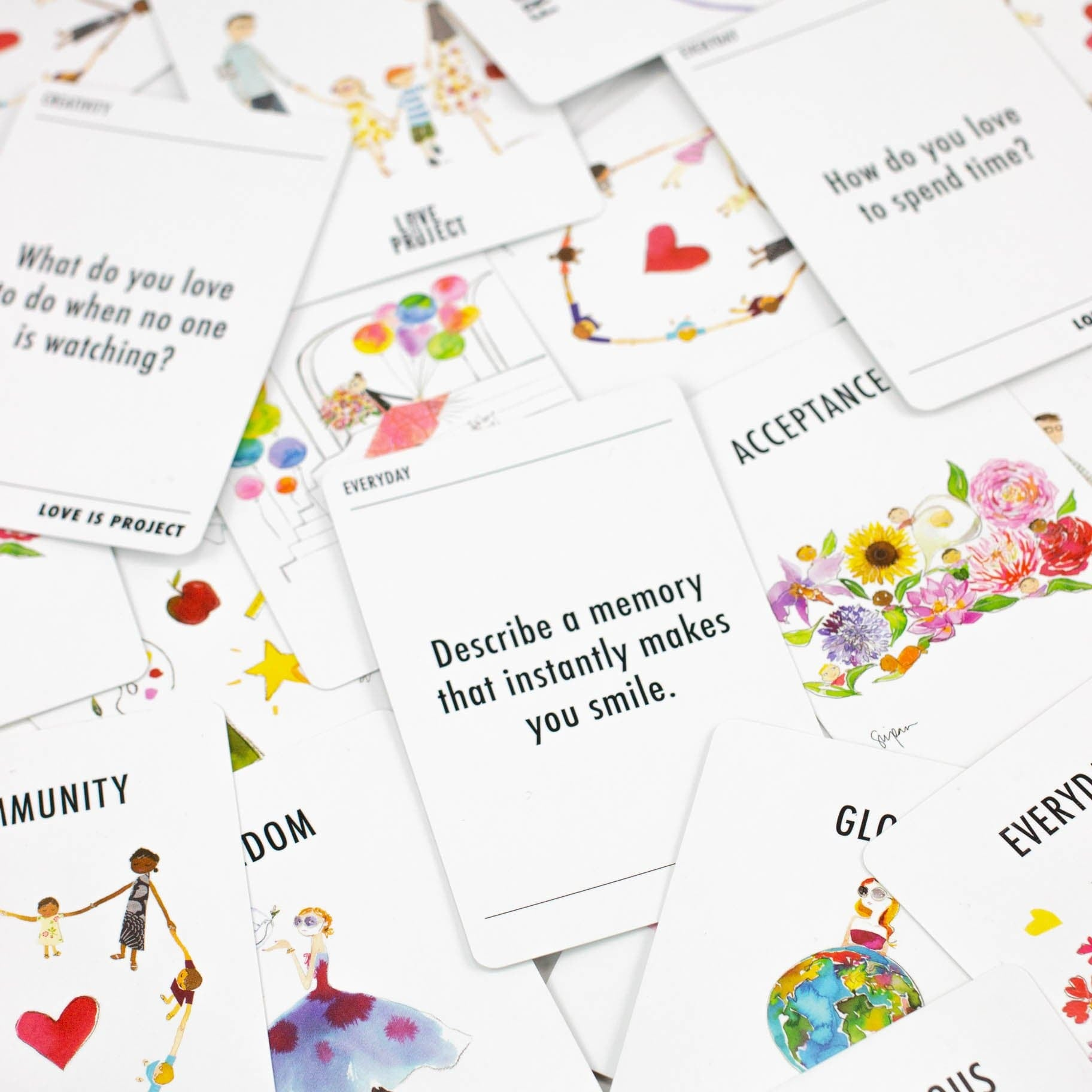 Spread the LOVE - Deck of Cards - Love Is Project