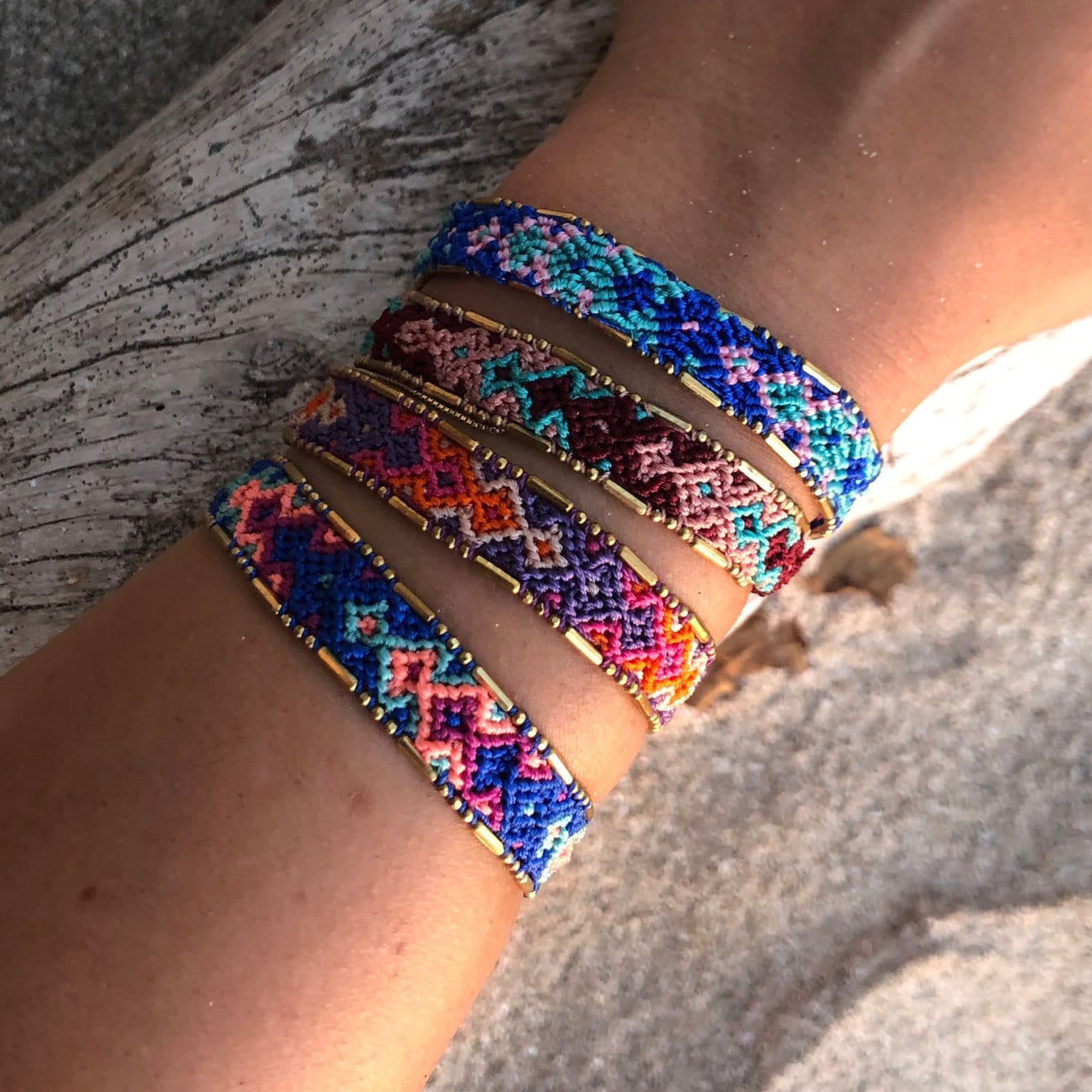 Bundle - Sunset Friendship Bracelets - Love Is Project