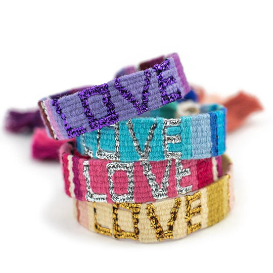 Bundle - Atitlan Deep LOVE Bracelets (Set of 4) - Love Is Project