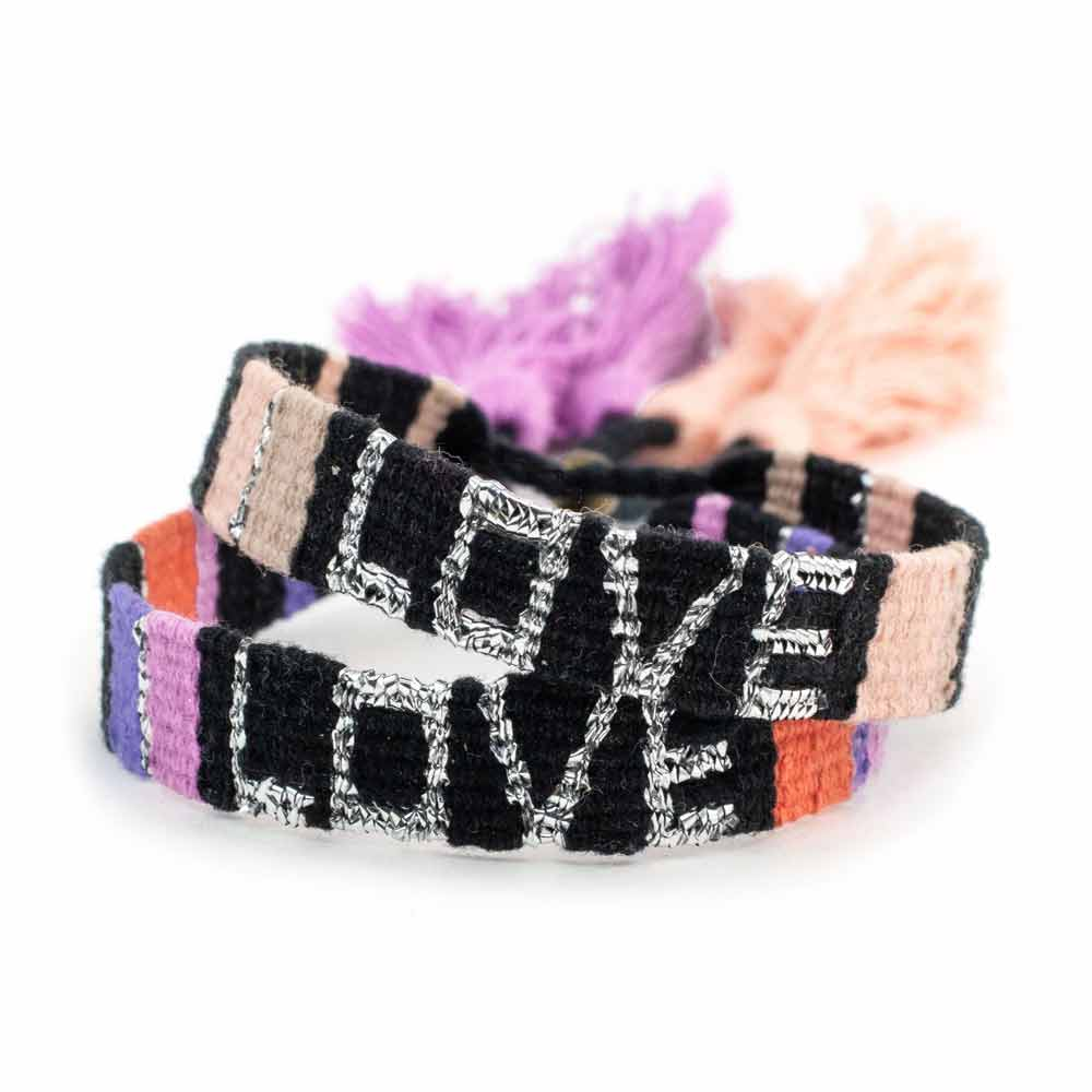 Love Is Project Bundle Bundle - Atitlan Twilight LOVE Bracelets (Set of 2)