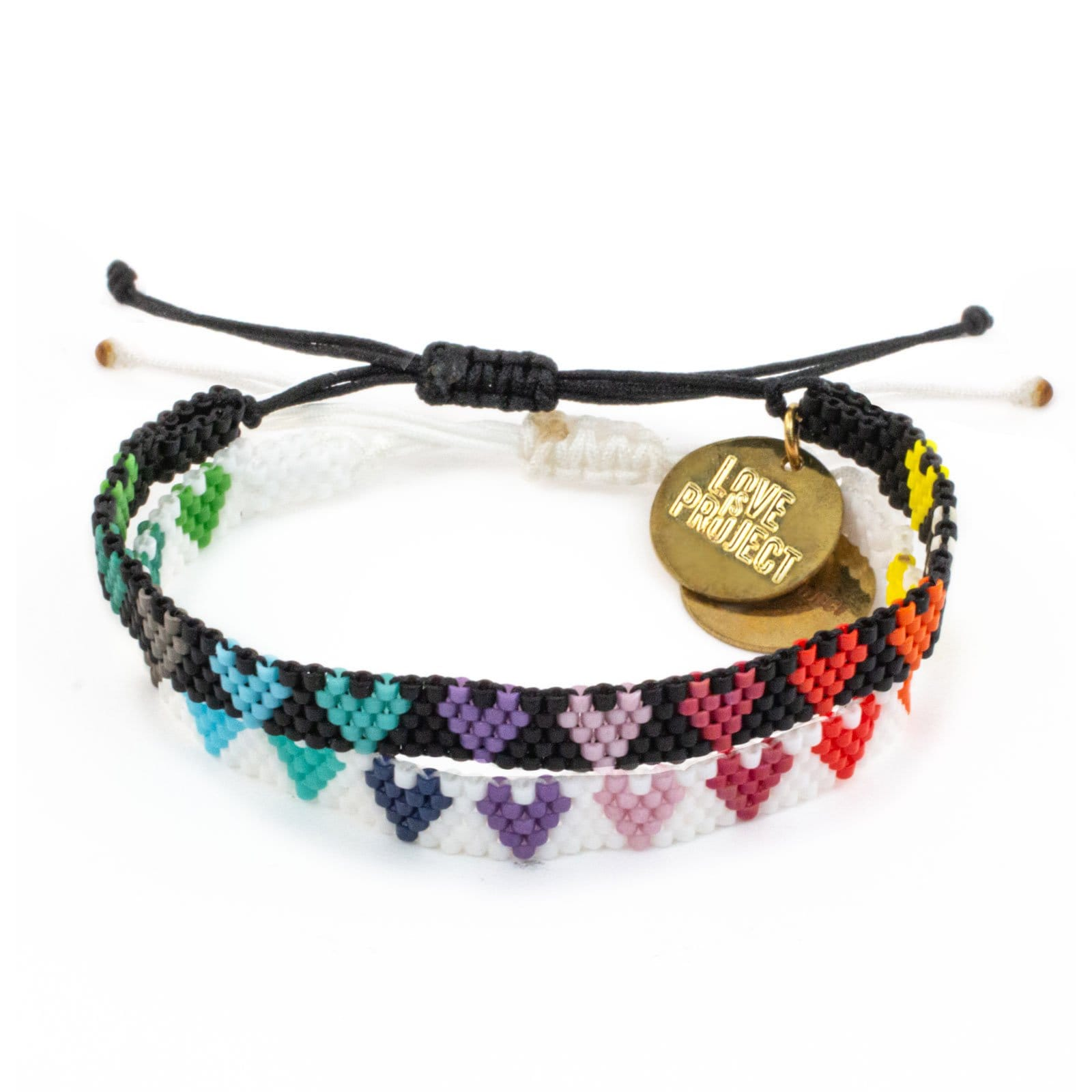 NEW ARRIVAL LOVE is LOVE Bracelets Set (of 2)