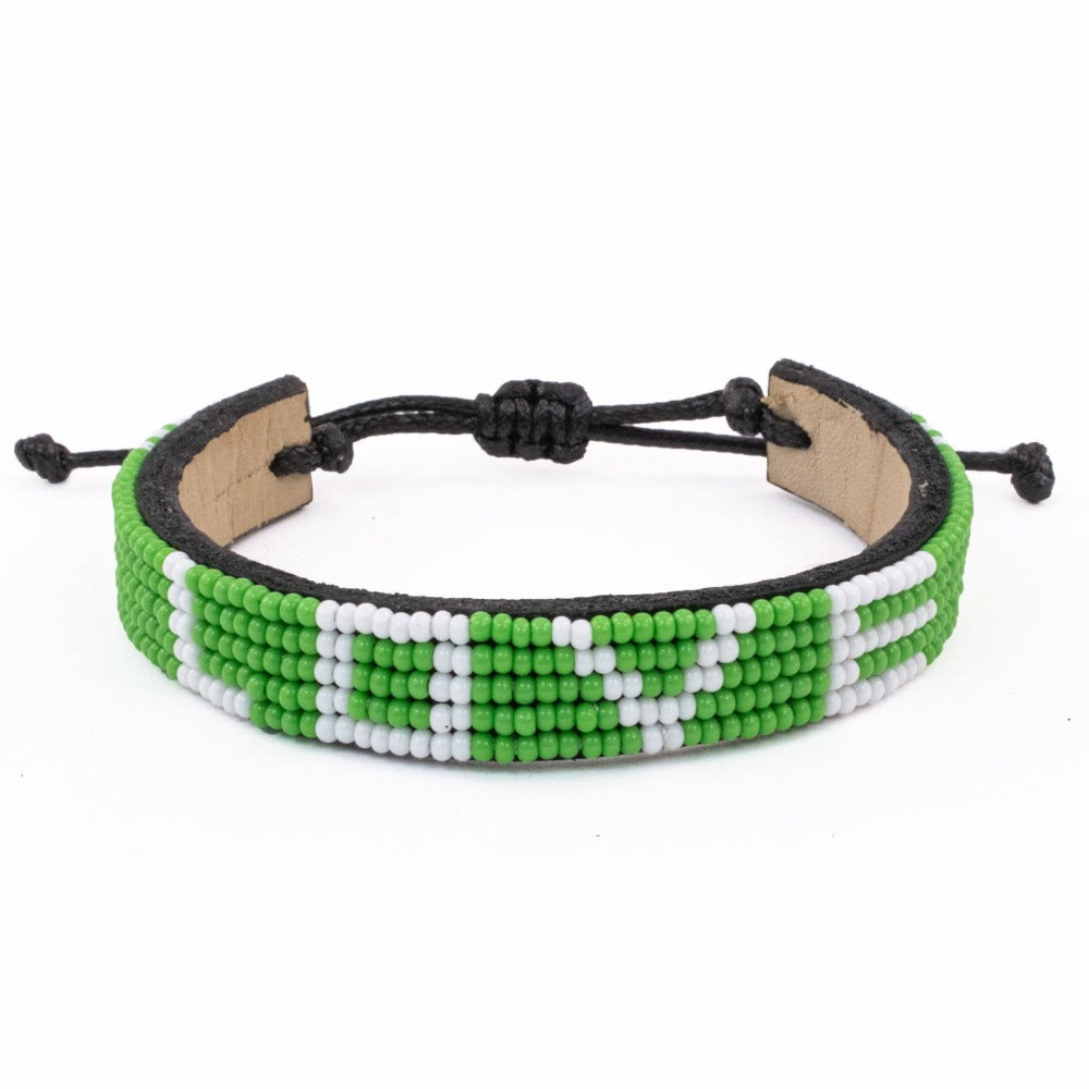 Green Empower LOVE Bracelet