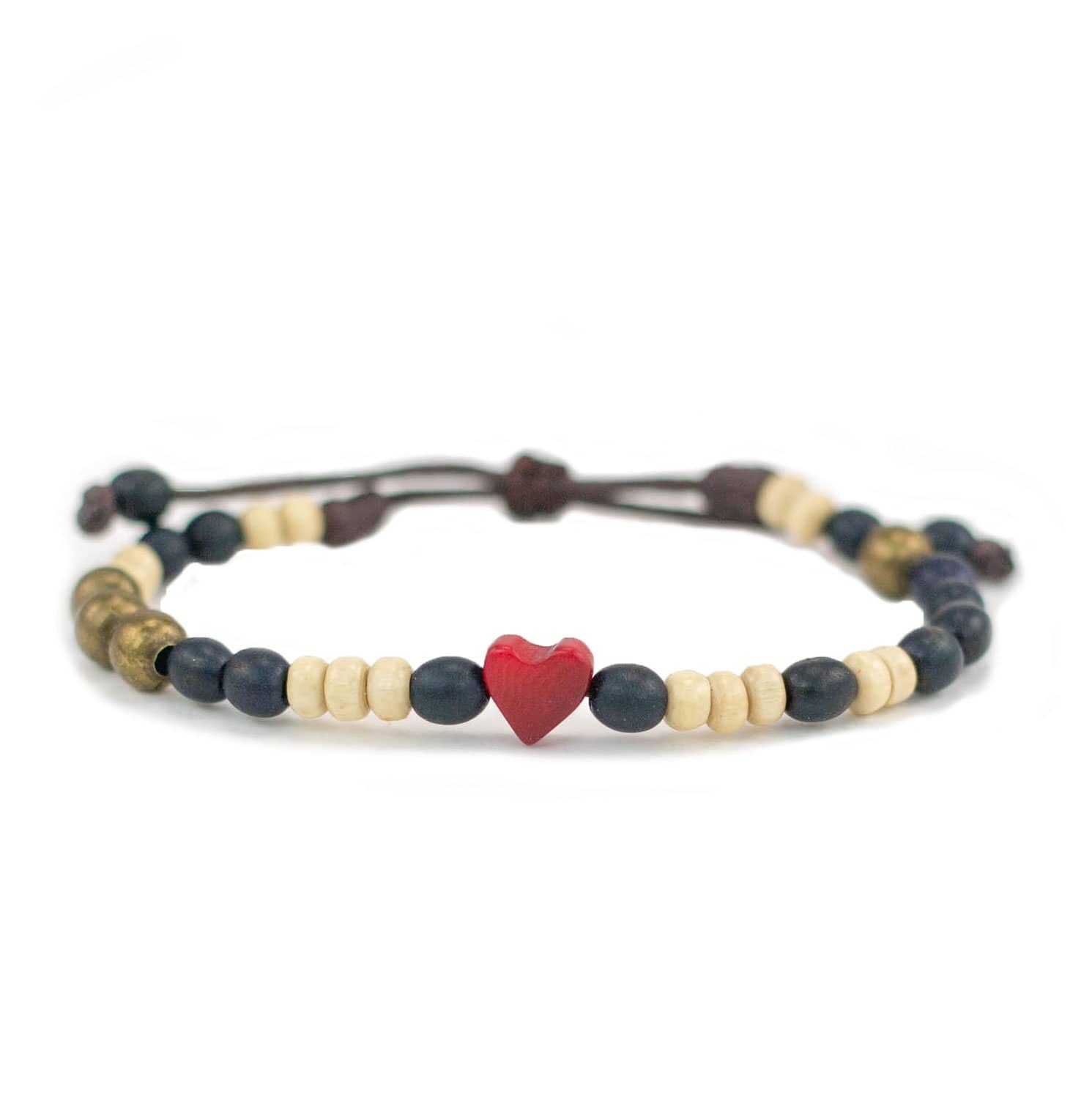 Tagua Heart Bracelet - Love Is Project