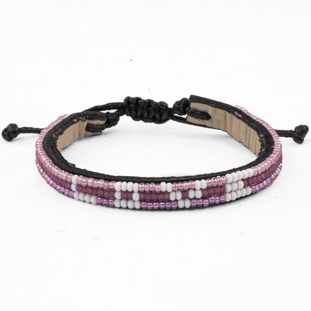 Skinny Ombré LOVE Bracelet - Pink Power