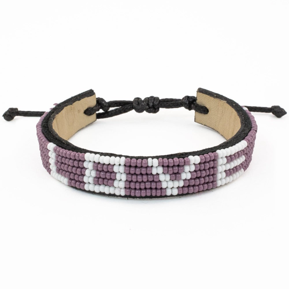 Purple Empower LOVE Bracelet