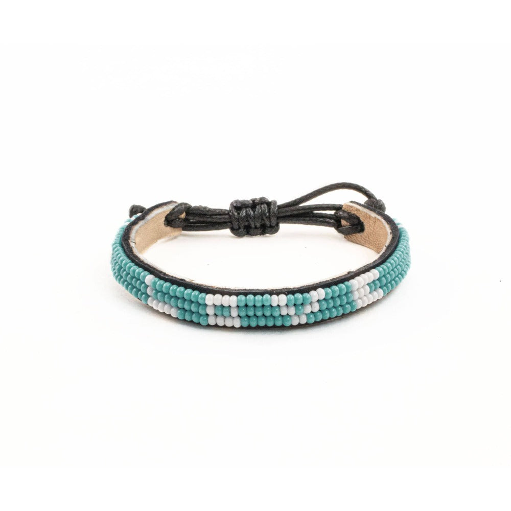 Skinny LOVE Bracelet - Turquoise - Love Is Project