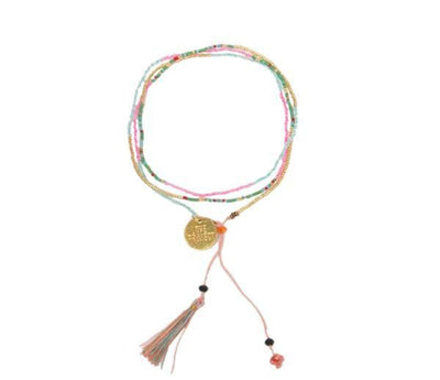 Bundle - Bali UNITY beaded Wrap/Necklaces