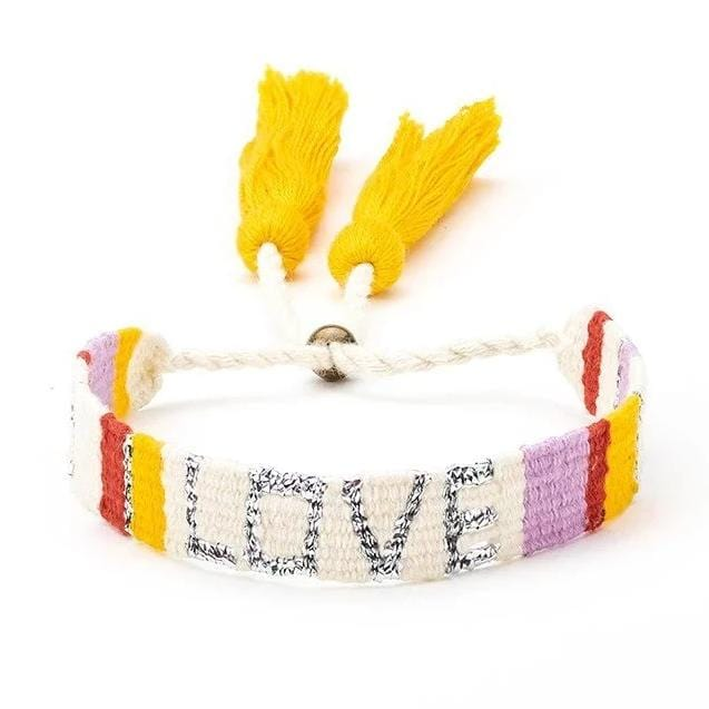 Bundle - Atitlan Sunny LOVE Bracelets (Set of 4) - Love Is Project
