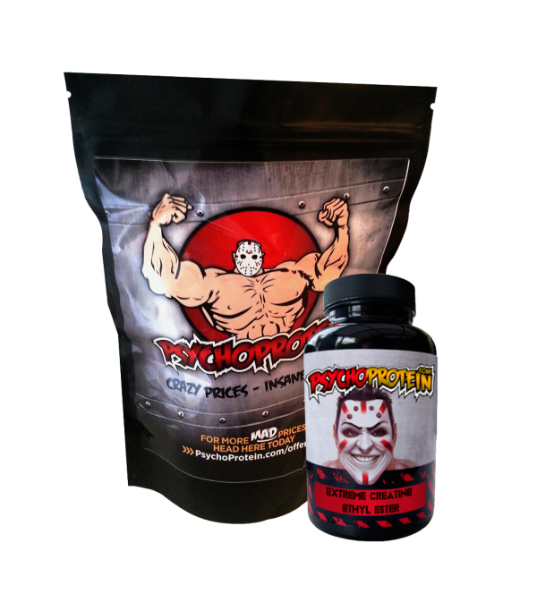 Psycho's 100% Creatine Ethyl Ester - Super Deal