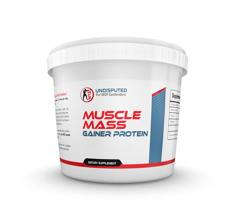 White Collar Fighter Muscle Gainer Protein - 4KG