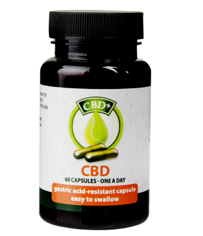 CBD Oil - Capsules (60) - 50% Off Special Offer!