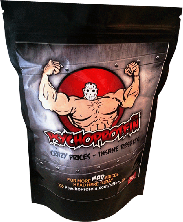 Psycho's 100% Waxy Maize Starch - Slow-Digesting, Energy-Based Starch!